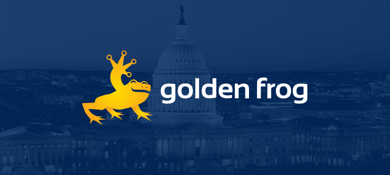 Golden Frog Goes to DC (Again!) to Promote Online Privacy Legislation