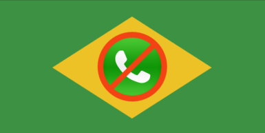 WhatsApp Blocked in Brazil Again, this Time for 72 Hours