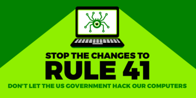 Join EFF's Day of Action: Tell the Government to Stop Hacking Computers, Reject Changes to Rule 41