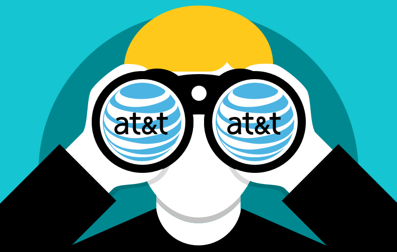 AT&T Caught Spying On Their Customers Again. This Time, For Profit.
